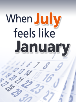 When July Feels Like January